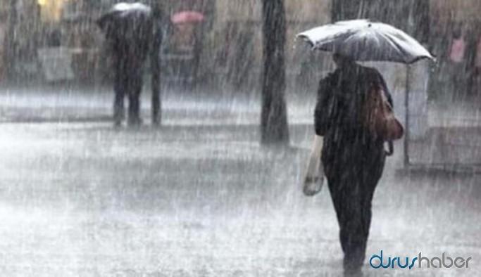 Meteoroloji uyardı: Su baskını, yıldırım, yerel dolu yağışına karşı dikkatli olunmalı