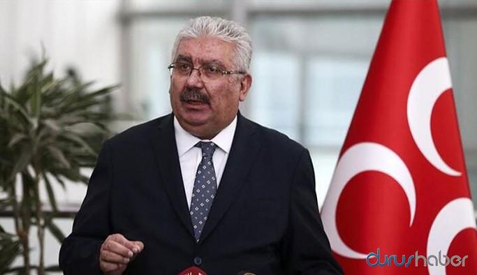 MHP'li Yalçın: DEVA ile Gelecek'in hiçbir şansı yok, en iyisi Cumhur İttifakı'na katılmaları