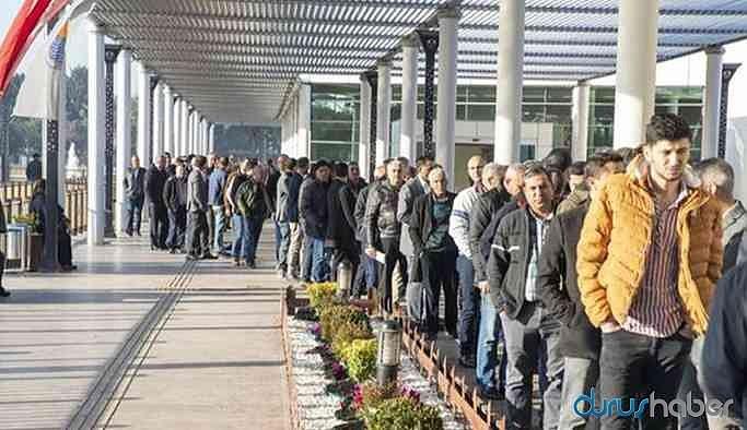 TÜİK'e göre işsizlik oranı martta geriledi