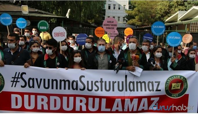 Yürüyüşleri engellenen avukatlardan Fevzioğlu'na istifa çağrısı