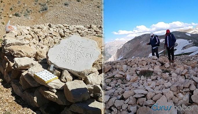 Zini Gediği Anıtı'na saldırı: İçindeki kemikleri etrafa saçtılar
