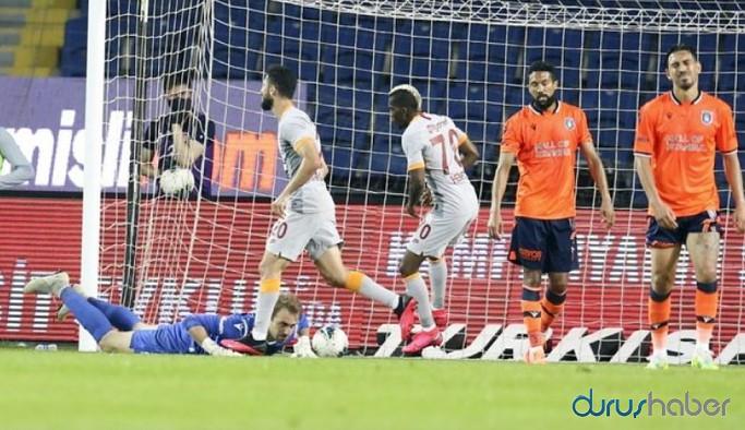 Zirve yarışında Başakşehir ve Galatasaray 1 puanı paylaştı