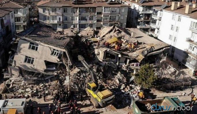 41 kişinin hayatını kaybettiği Elazığ depreminin raporu yayımlandı