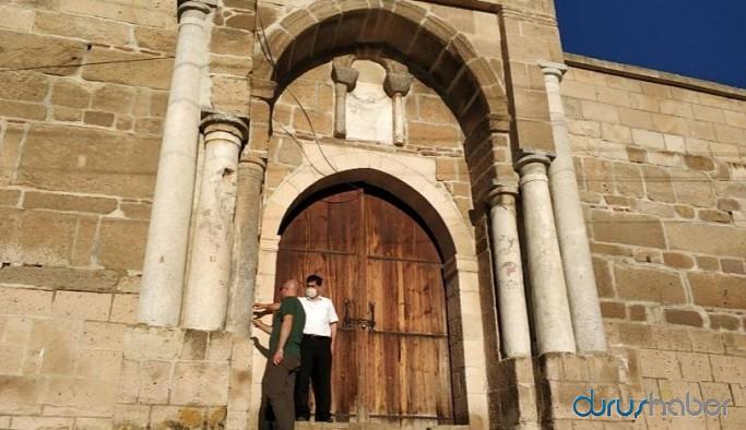700 yıllık kervansarayda 'korsan' restorasyon
