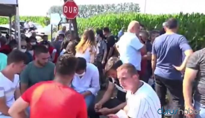 Ailelerden Erdoğan'a tepki: Fabrikaya kaç kere gelmiş, nereden biliyor?