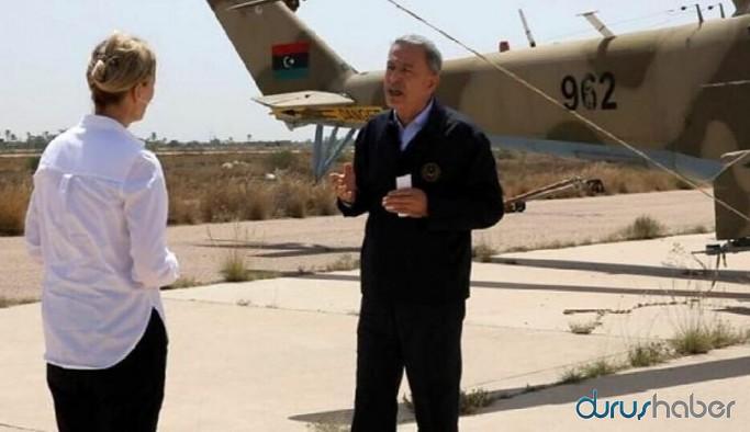 Bakan Akar BBC'ye konuştu: NATO'nun ileri gitmesi için azami gayret gösteriyoruz