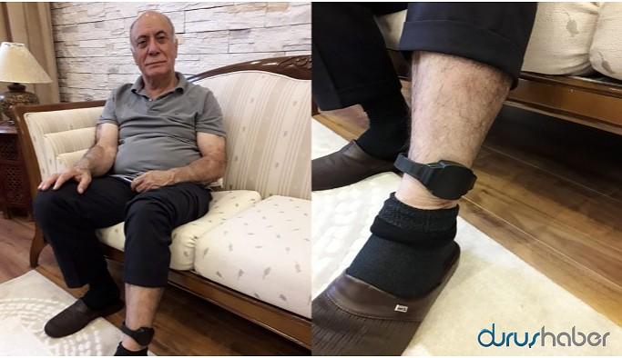 Alınak'ın ayağındaki kelepçe 29 gün sonra çıkarıldı