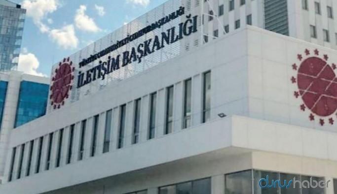 Ankara'da tartışmalı binaya İletişim Başkanlığı logosu yerleştirildi