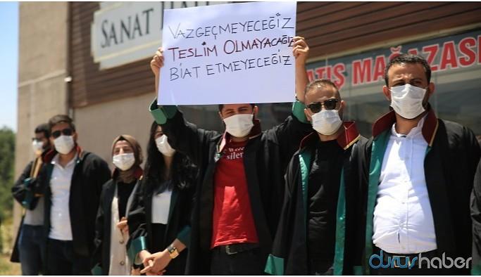 Avukatların çoklu baro protestosuna 31 bin TL pandemi cezası