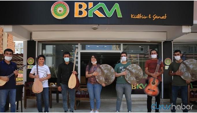 Bahar Kültür Merkezi 20 dalda yaz kursları başlattı