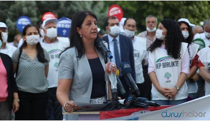 Buldan: Savaşa karşı barış için Diyarbakır'dayız