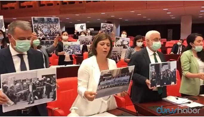 'Çoklu baro' teklif görüşmeleri HDP'nin protestosuyla başladı