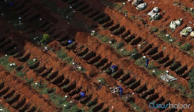 Koronavirüste son 24 saat: Brezilya'da 1280, Meksika'da 648, Hindistan'da 507 ölüm