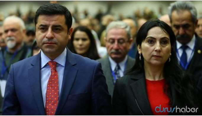 Demirtaş ve Yüksekdağ'ın tutukluluk incelemesi yapıldı