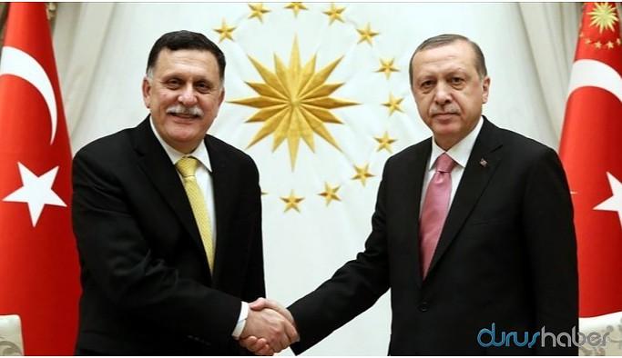 Erdoğan, Serrac ile bir araya geldi