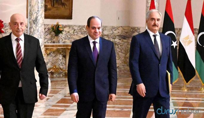 Hafter yanlısı meclis Mısır'a Türkiye'ye karşı müdahale etmesi için izin verdi