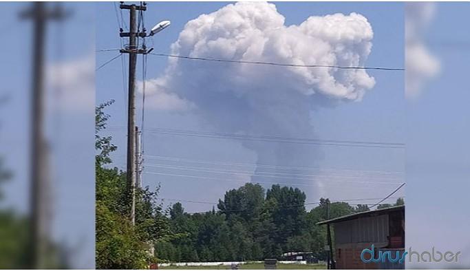 Sakarya'daki havai fişek fabrikasında şiddetli patlama: 2 ölü, 73 yaralı