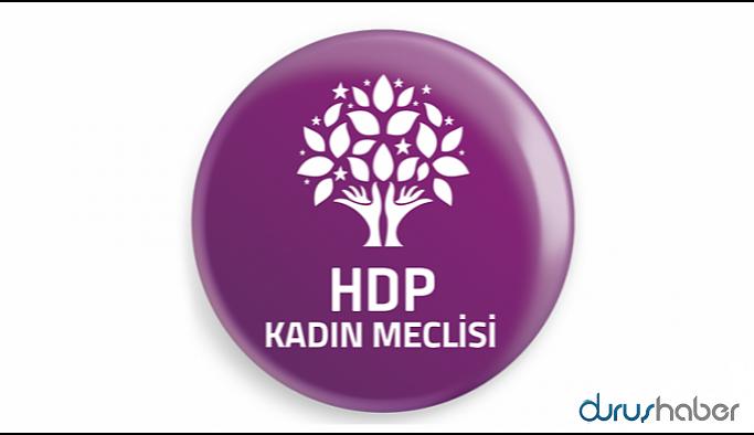 HDP Kadın Meclisi'nden Tuma Çelik açıklaması