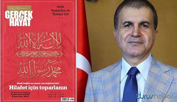 Hilafet tartışmalarına AKP'den yanıt geldi
