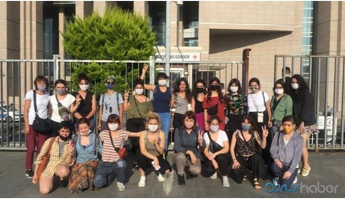 İşgal eylemi yapan kadınlar serbest