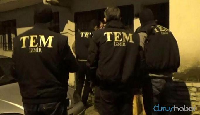İzmir'de ev baskınları: Gözaltılar var