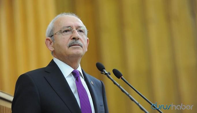 CHP lideri Kılıçdaroğlu, erken seçim için Bahçeli'yi adres gösterdi