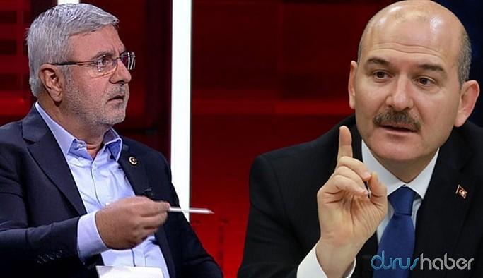 Süleyman Soylu ile tartışan Mehmet Metiner o tweetini sildi