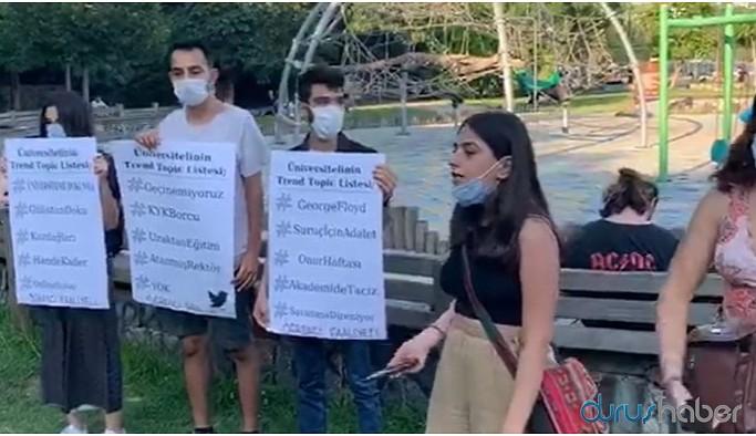 Üniversiteli gençler: Sansüre biat etmeyeceğiz