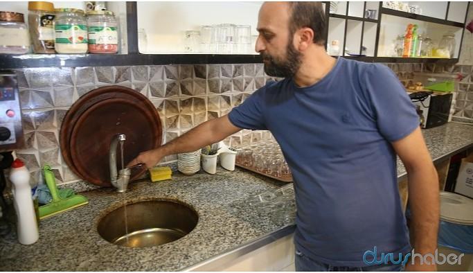 Vaka artışı yaşanan kentte su sorunu