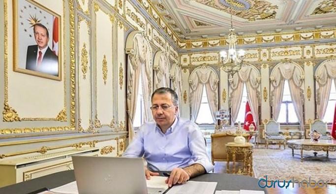 İstanbul Valisi'nin varaklı makam odasına milyonluk tadilat