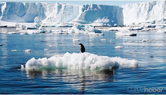 30 yılda 28 trilyon ton buzul eridi