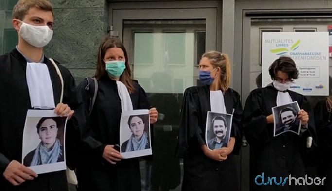 Belçikalı avukatlar ölüm orucundaki Timtik ve Ünsal için açlık grevinde
