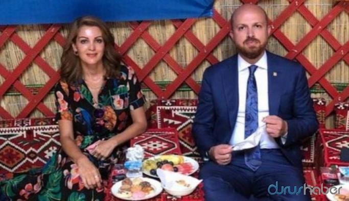 Bilal Erdoğan, Nagehan Alçı'ya Ahlat'taki 'babasının sarayı'nı gezdirdi