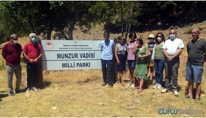Dersim'deki Milli Park'ın kirletilmesine tepki