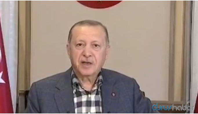 Erdoğan prompteri kaçırdı: Geri al, geri al