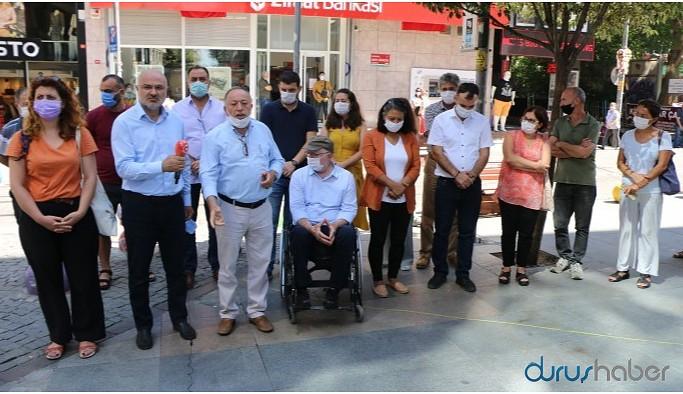 HDP'lilerden TİP'e geçmiş olsun ziyareti