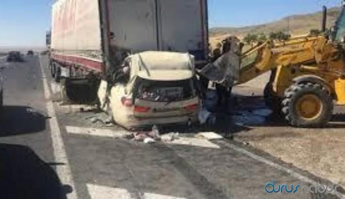 Feci kaza: 5 kişi yaşamını yitirdi