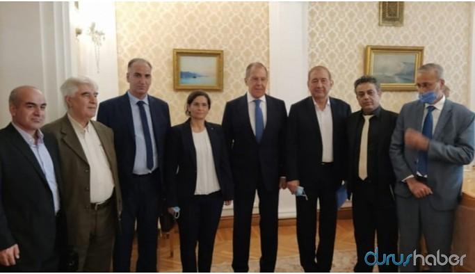 MSD Lavrov görüşmesinde Suriye ile diyalog konuşuldu