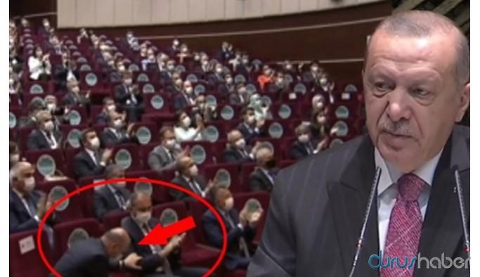Soylu hamle yaptı herkes ayağa kalkıp Erdoğan'ı alkışladı