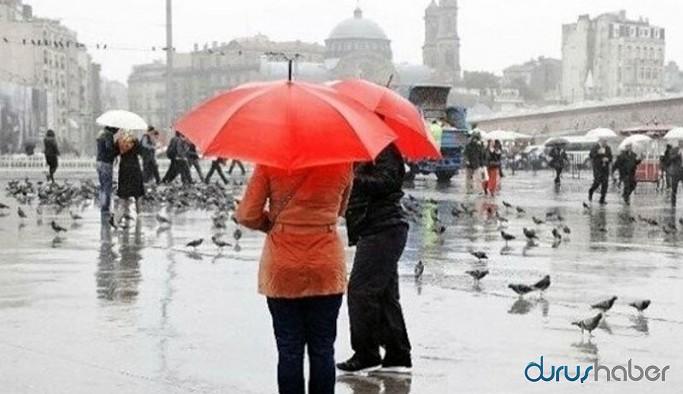 AFAD'dan kuvvetli sağanak yağış uyarısı