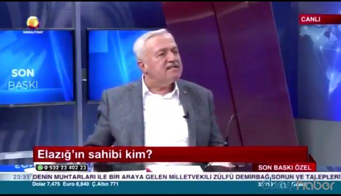 AKP'li Zülfü Demirbağ'dan depremzedelere tepki: Elazığ'ın sahibi Allahtır, Erdoğan'dır