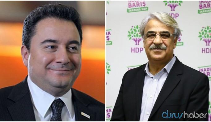 Ali Babacan Sancar'ı aradı