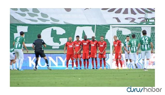 Beşiktaş'a deplasmanda büyük şok! Konyaspor gol oldu yağdı