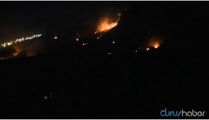 Cudi Dağı'nda 3 noktada yangın