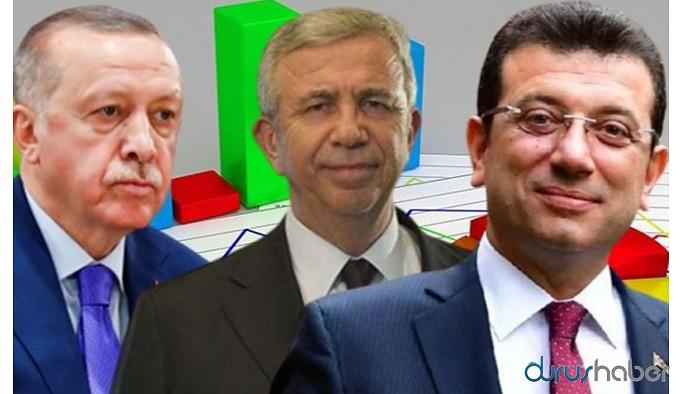 Cumhurbaşkanlığı seçim anketi: Erdoğan'ı geçen isim