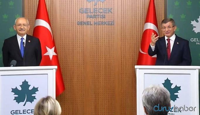 Davutoğlu doğu anketini Kılıçdaroğlu ile paylaştı: İşte çarpıcı detaylar....