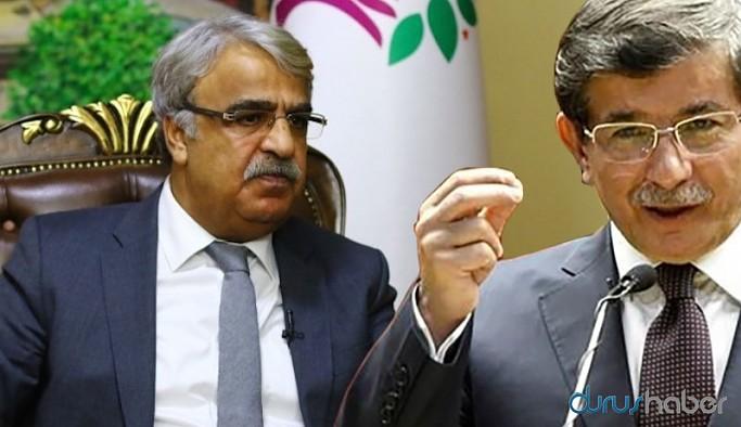 Davutoğlu HDP Eş Genel Başkanı Mithat Sancar'ı aradı: Hukuki değil