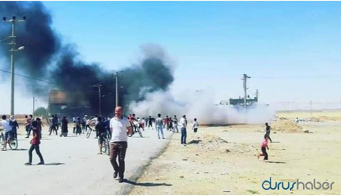 DEDAŞ'ı protesto eden yurttaşlara jandarma müdahale etti