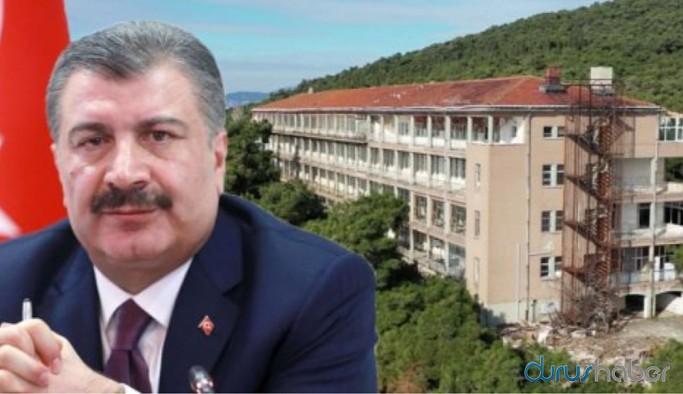 Fahrettin Koca'dan Diyanet'e peşkeş çekilen Heybeliada'daki hastane hakkında açıklama