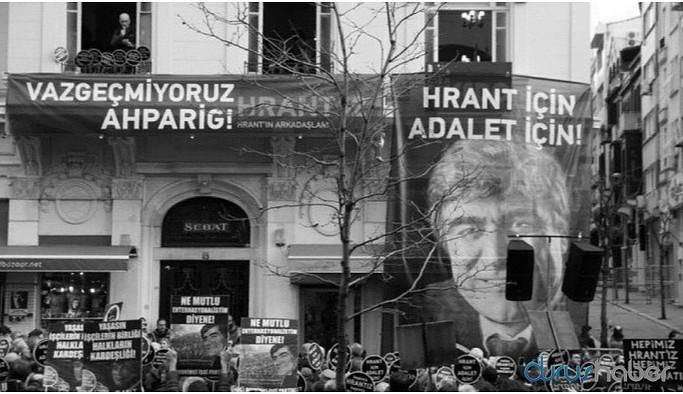 Hrant Dink Vakfı'na tehdit davası'nda iki sanık hakkında karar
